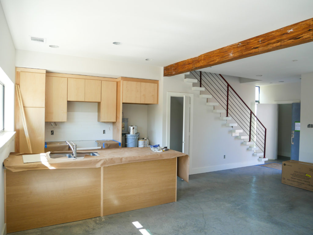 Open Kitchen and Living Space