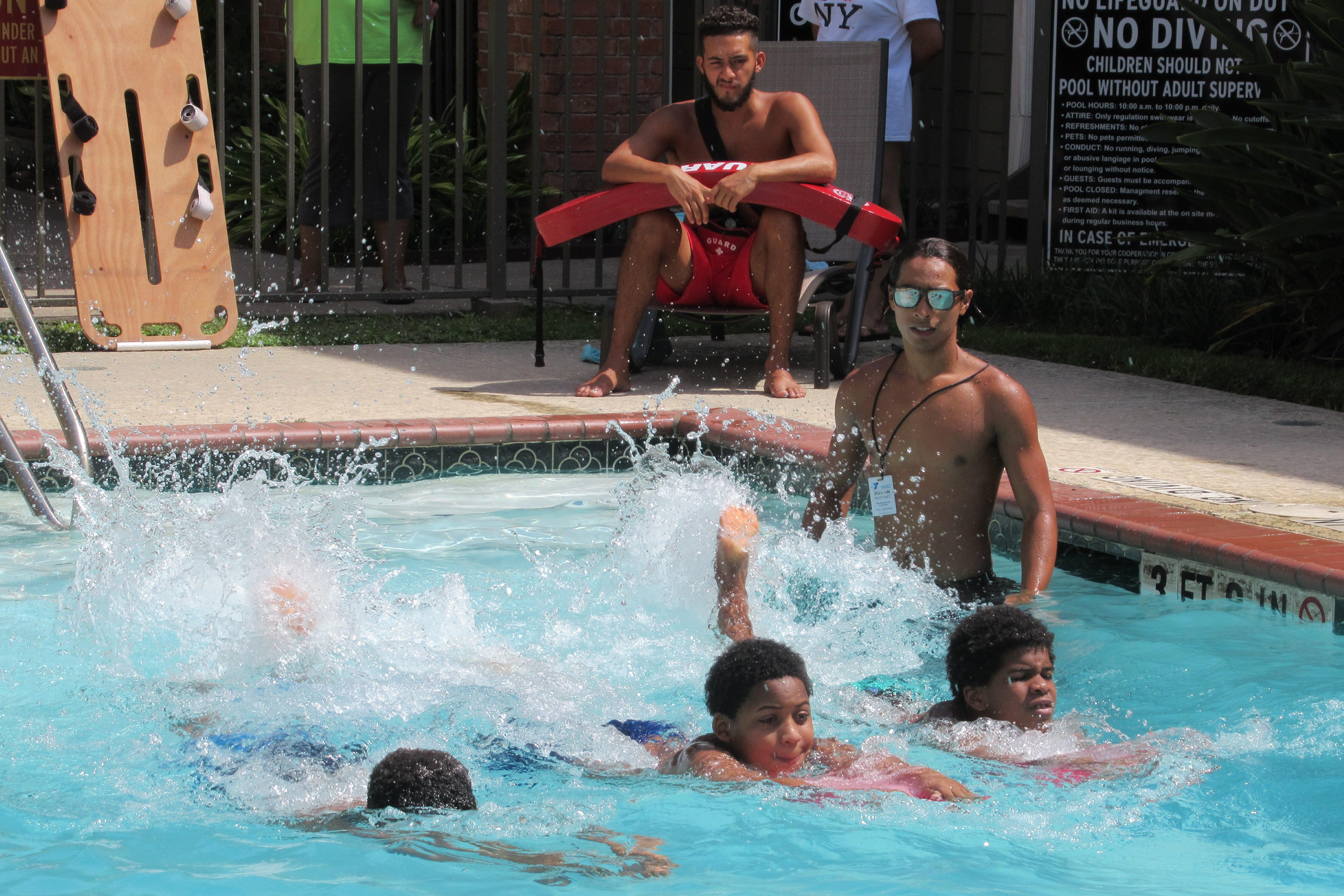 Water Safety Program at Washington Courtyards